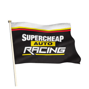 SUPERCHEAP AUTO RACING TEAM FLAG