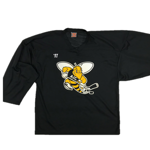 Pro Used Practice Jersey - AIC Yellow Jackets (Black)