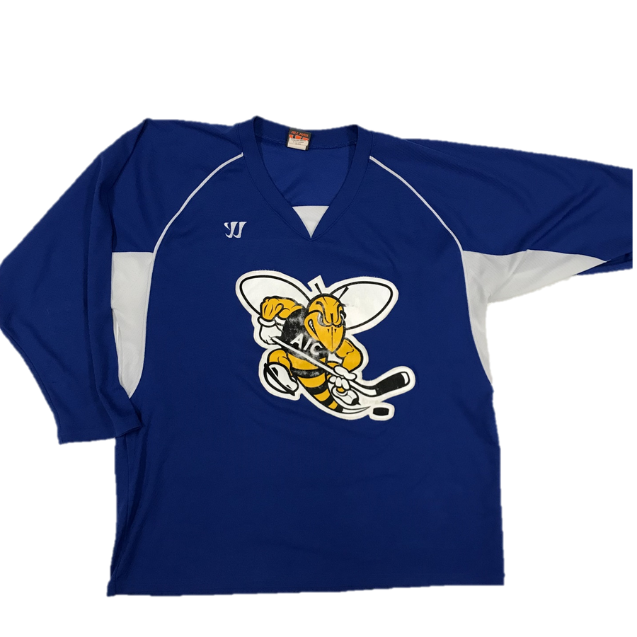 Pro Used Practice Jersey - AIC Yellow Jackets (Blue)