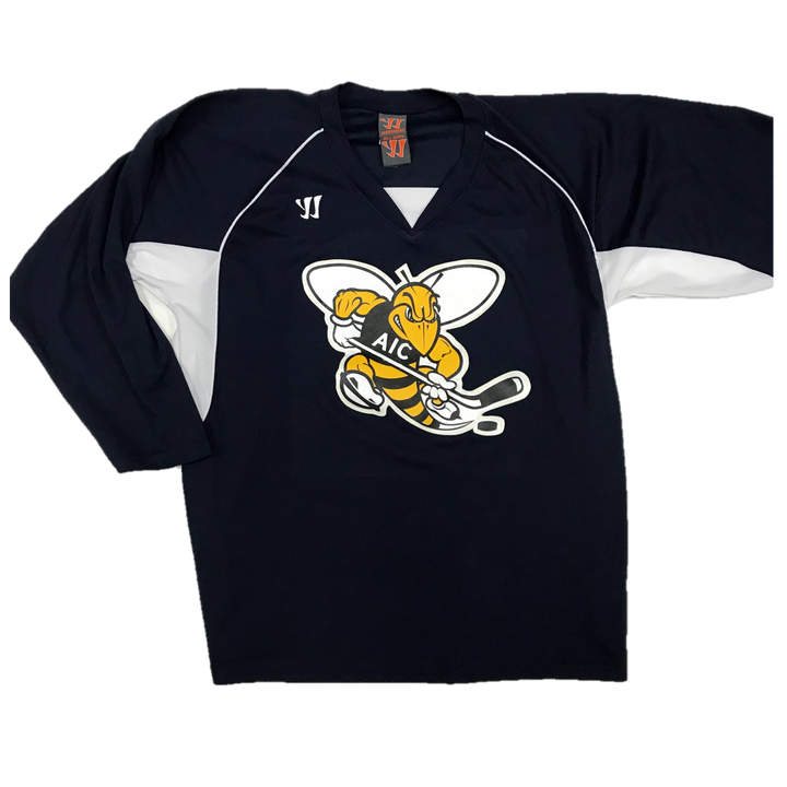 Pro Used Practice Jersey - AIC Yellow Jackets (Navy)