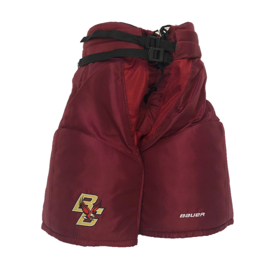 Bauer Hockey Pant - New Senior Pro Stock - Burgundy