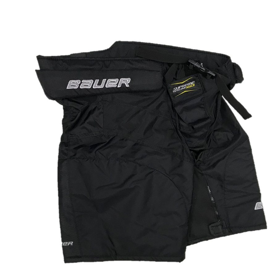 Bauer MX3 Hockey Pant Shell - Pro Stock - Black