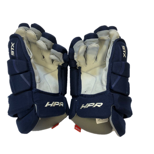 STX Stallion HPR - Pro Stock Glove - Columbus Blue Jackets (Alternate)