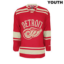 NHL Licence Jerseys - Youth - Detroit Red Wings