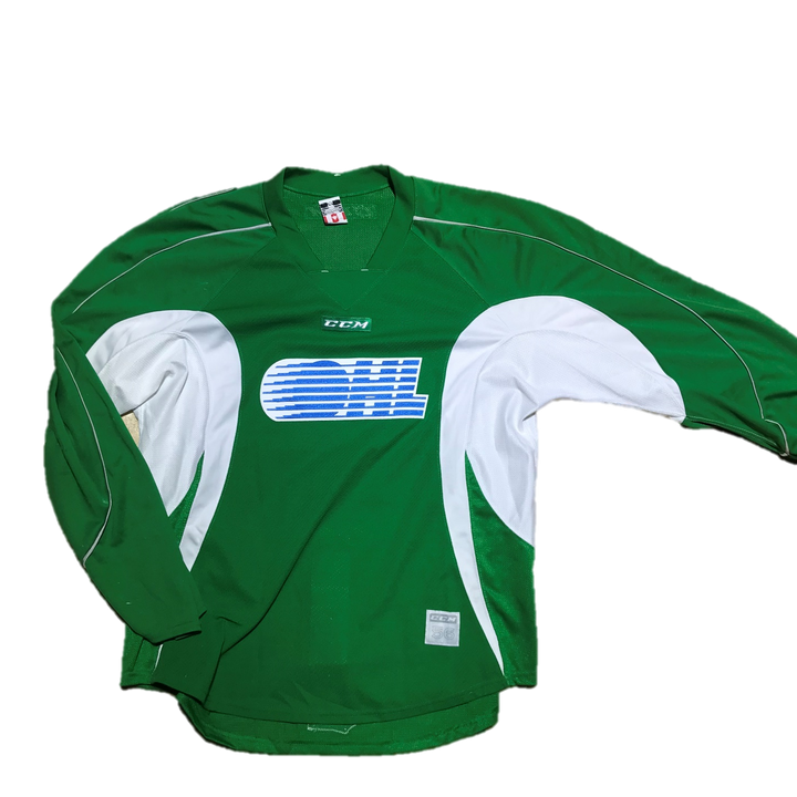 OHL - Used Practice Jersey (Kelly Green)