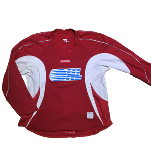 OHL - Used Reebok Practice Jersey (Red)