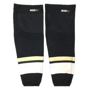 TEAM SET - Used CCM Pro Game Sock (Penguins) - Black