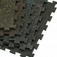 "Rubber Interlocking Tiles (24"" X 24"")"