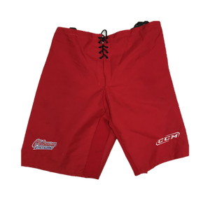 Used - CCM Hockey Pant Shell - Pro Stock (OHL) - Red