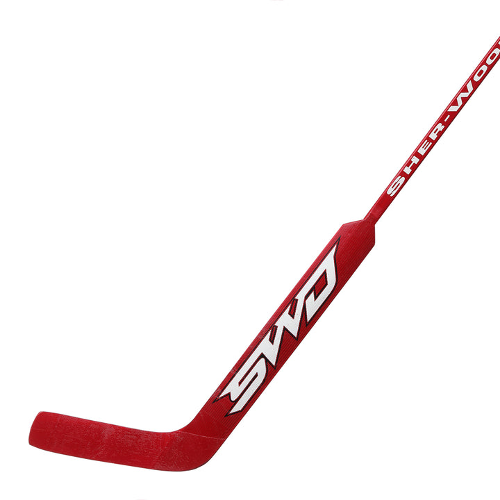Goalie - Sherwood 9950 - Red/White - Right