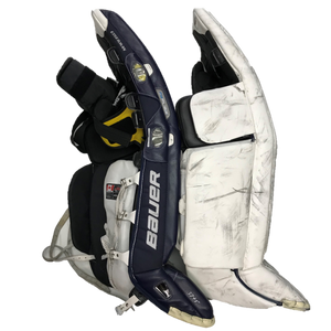 "Bauer TotalOne (37""+1) - Used Pro Stock Senior Goalie Pads"