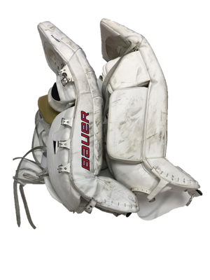Bauer Supreme - Used Pro Stock Senior Goalie Pads + Glove