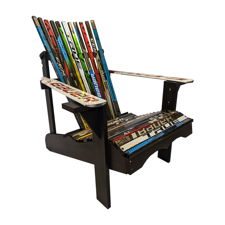 Hockey Stick Chair - Wooden Frame