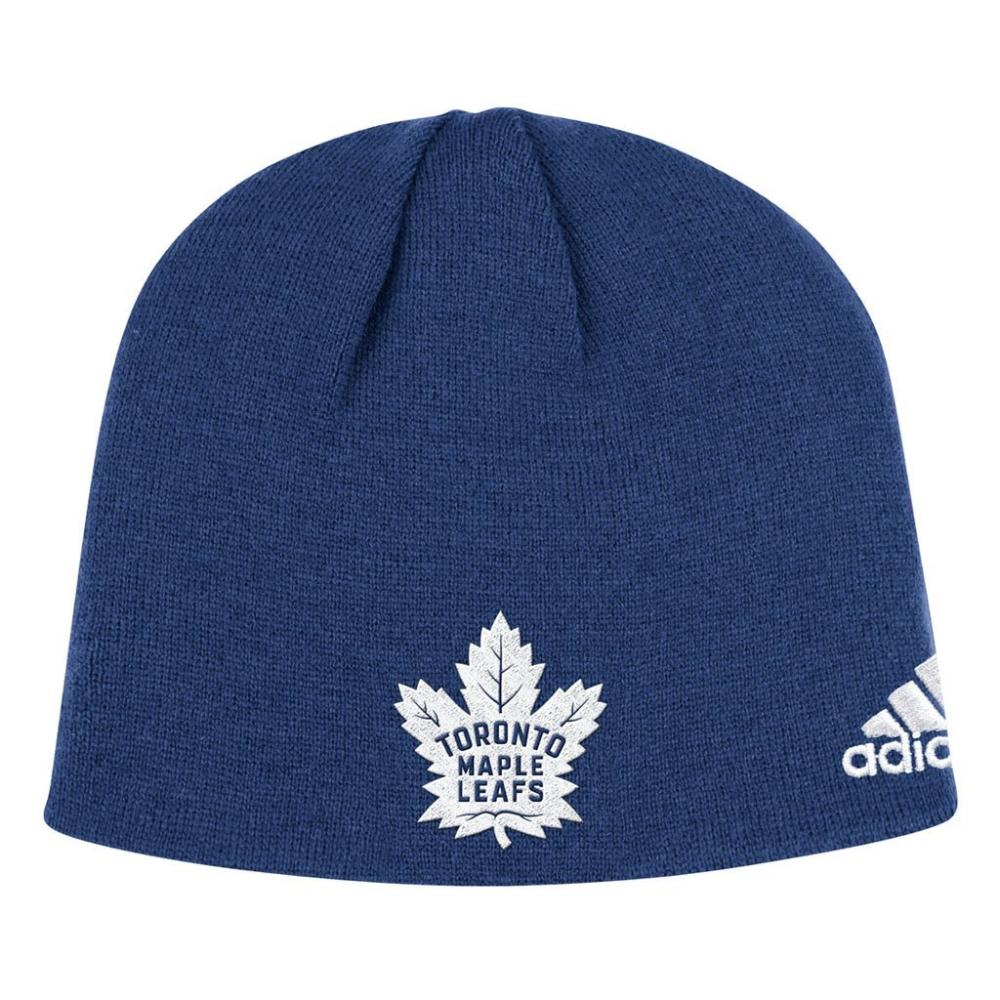 finest selection 61747 ab69f NHL Licence Hat - Toronto Maple Leafs Adidas Beanie