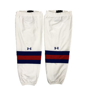 TEAM SET - Used Under Armour Pro Game Sock (UMass Lowell) - White
