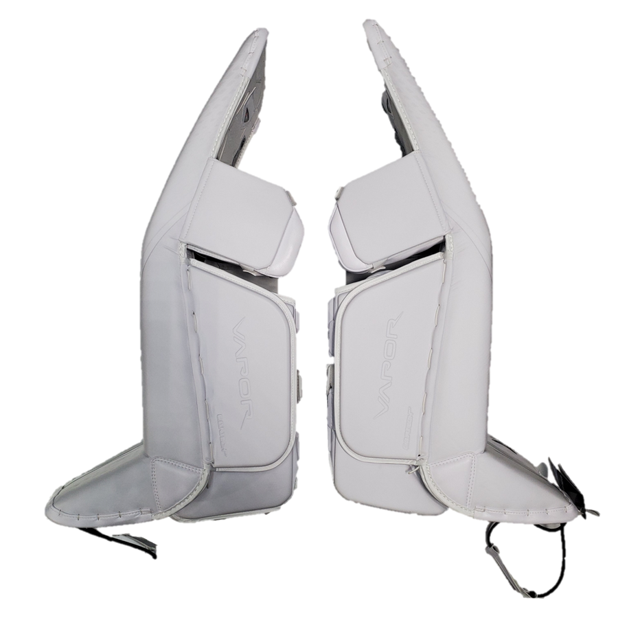 "Bauer Vapor 2X Pro (Saginaw Spirit) - L/36"" New Pro Stock Senior Goalie Pads (Full Set)"