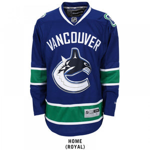 NHL Licence Jerseys - Youth - Vancouver Canucks
