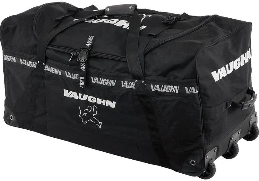 23d35360461 Goalie - Vaughn 7800 Super Pro Wheel Bag - HockeyStickMan