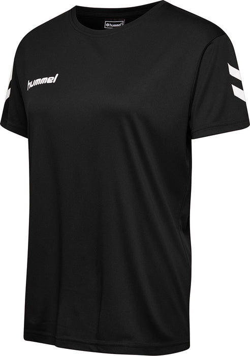 Hummel Core Polyester Women's Shorts Sleeve Tee