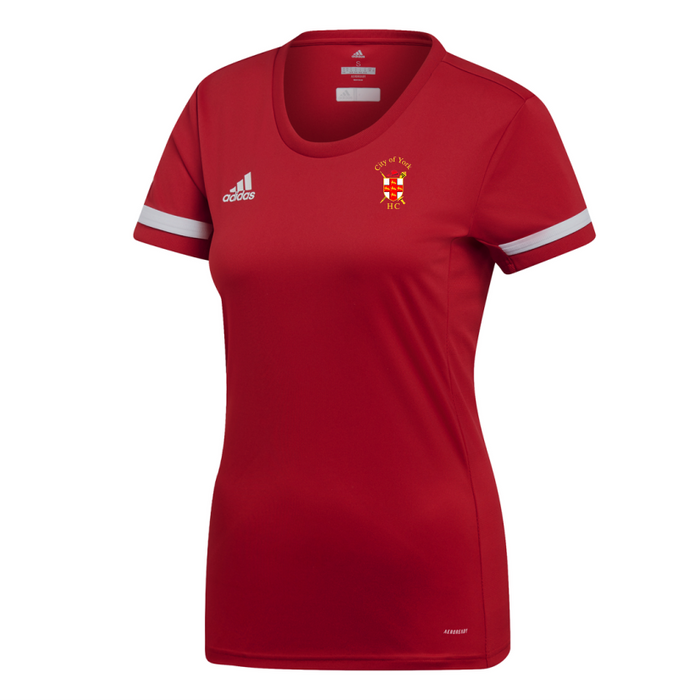 City Of York Short Sleeve Jersey Women's Red