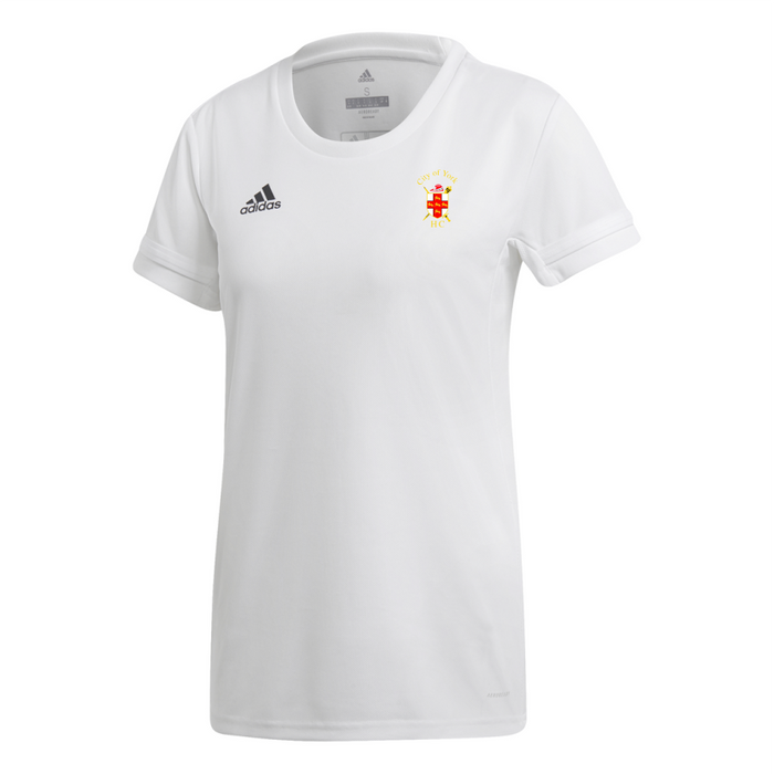 City Of York Short Sleeve Jersey Women's White