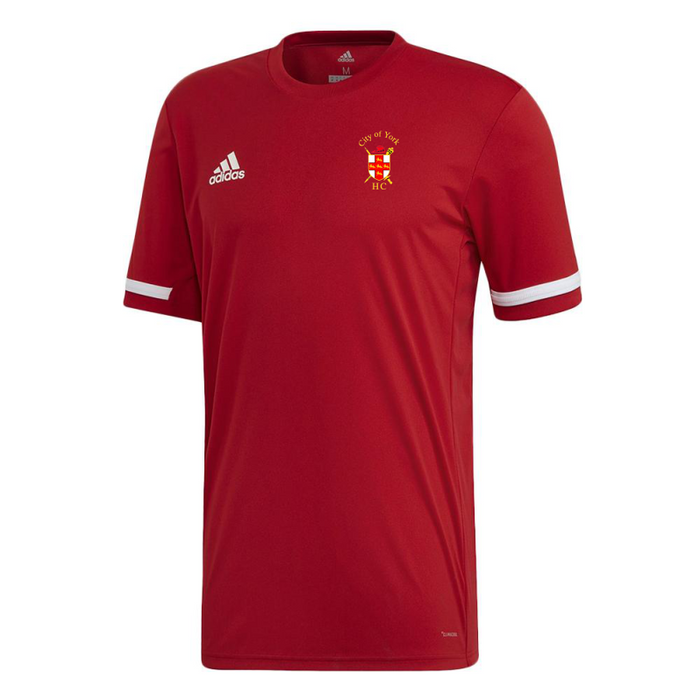 City Of York Short Sleeve Jersey Red
