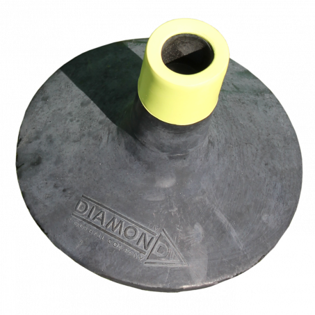 Diamond Weighted Pole Base - for all boundary poles