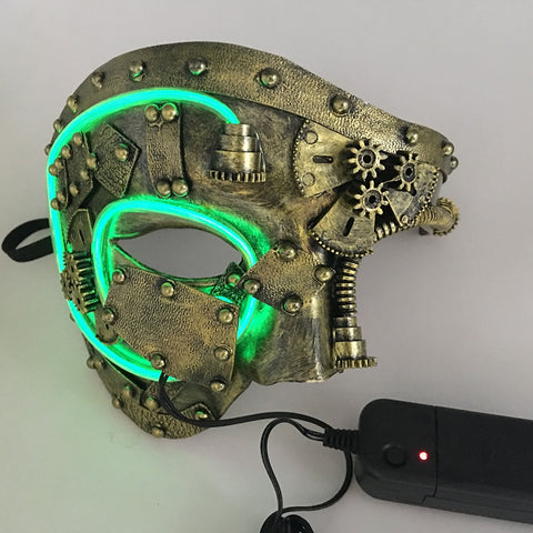 Masque Ded Steampunk