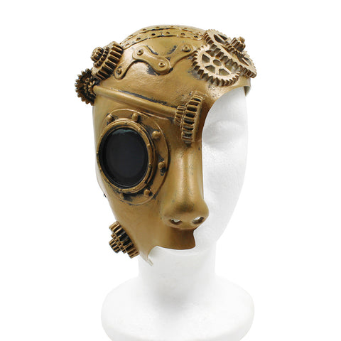 Masque Steampunk Monocle Homme