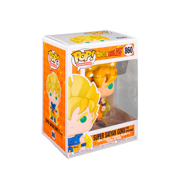 FUNKO POP ANIMATION: DAGON BALL Z GOKU SS 1RA APARICION