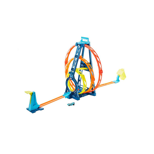 HOT WHEELS - TRACK BUILDER KIT TRIPLE LOOP