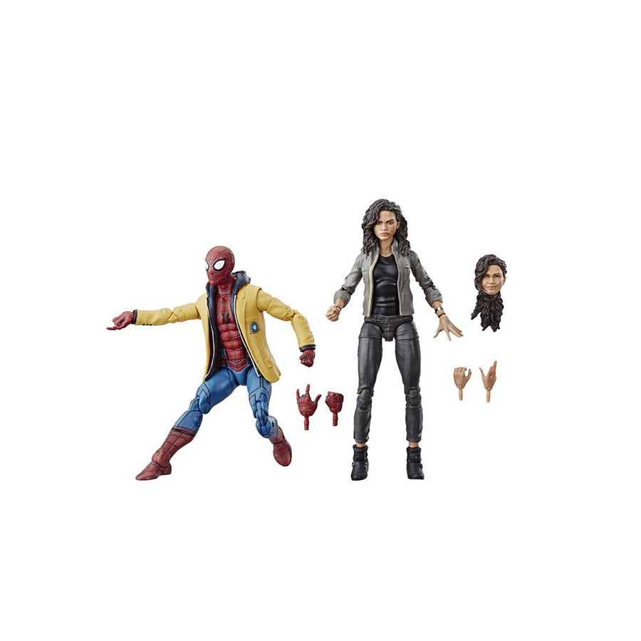 LEGEND SERIES SPIDER-MAN HOMECOMING - SPIDER-MAN y MJ