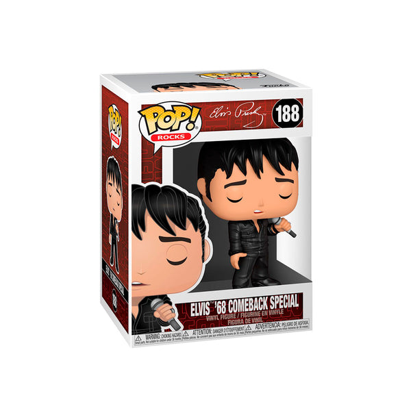 FUNKO POP ROCKS: ELVIS ESPECIAL DEL 68