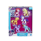 MY LITTLE PONY- COLECCION DE 6 PONYS