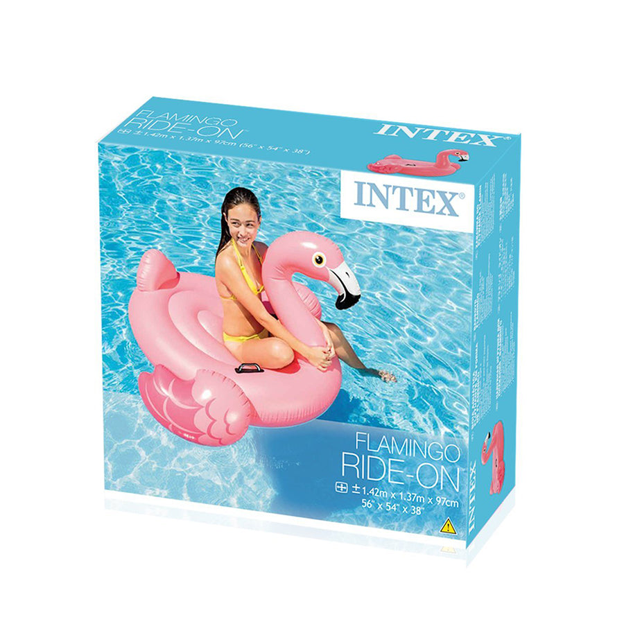 FLAMINGO INFLABLE 142 X 137 X 97 CM