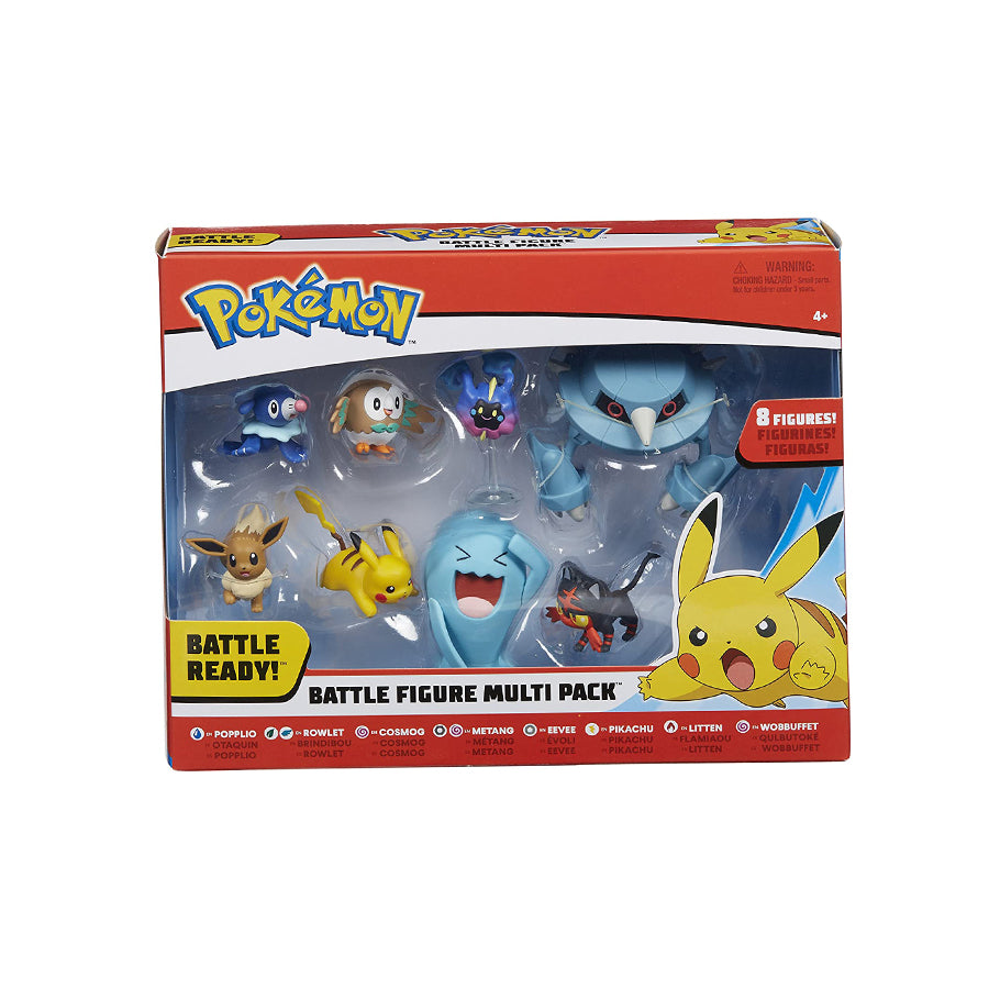 POKEMON 2 IN AND 3 IN - 8 PACK