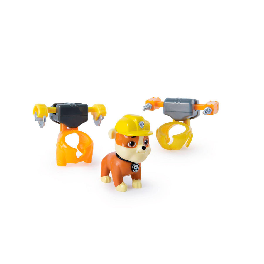 PAW PATROL: CACHORROS TRANSFORMABLES - RUBBLE