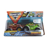 MONSTER JAM - 2 PACK 1:64