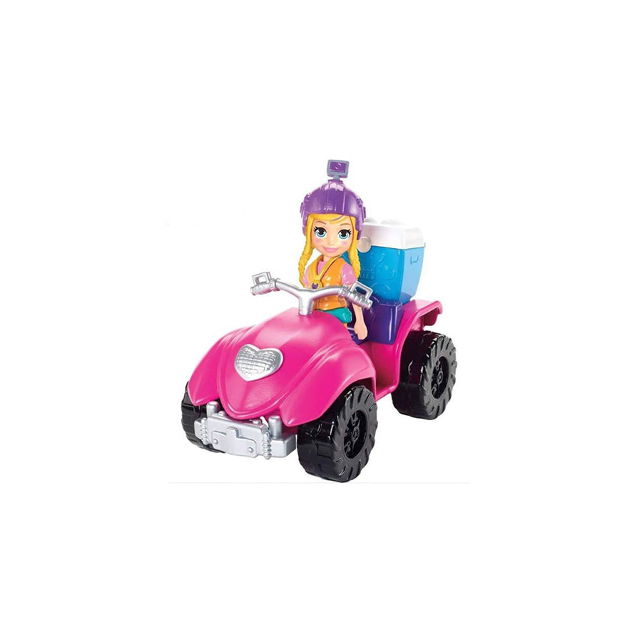POLLY POCKET CUATRIMOTO DE AVENTURAS