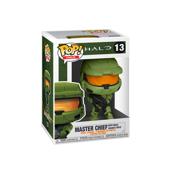 FUNKO POP GAMES: HALO INFINITE MASTER CHIEF C/RIFLE MA40