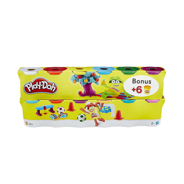 PLAY DOH 6 PACK + 6 PROMO