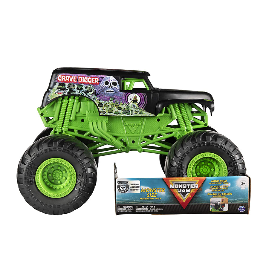 MONSTER JAM - GRAVE DIGGER VEHICULO 1:10