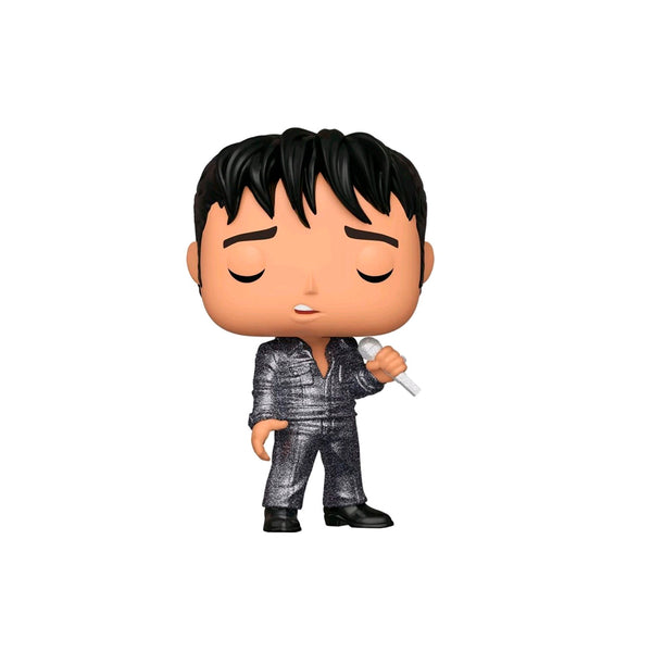 FUNKO POP ROCKS: ELVIS - ELVIS ESPECIAL DEL 68 DIAMOND GLITTER EXCLUSIVO