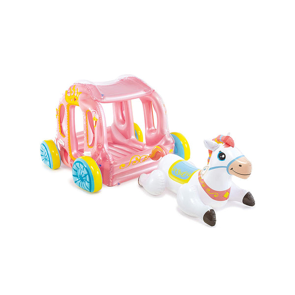 MONTABLE INFLABLE CARRUAJE PRINCESA