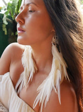 Load image into Gallery viewer, Bohemian Goddess My Feminine Essence - Moon Stone Ear Pieces