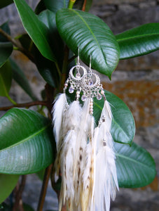 Bohemian Goddess Love Notes To My Soul - Rose Quartz Ear Pieces Short