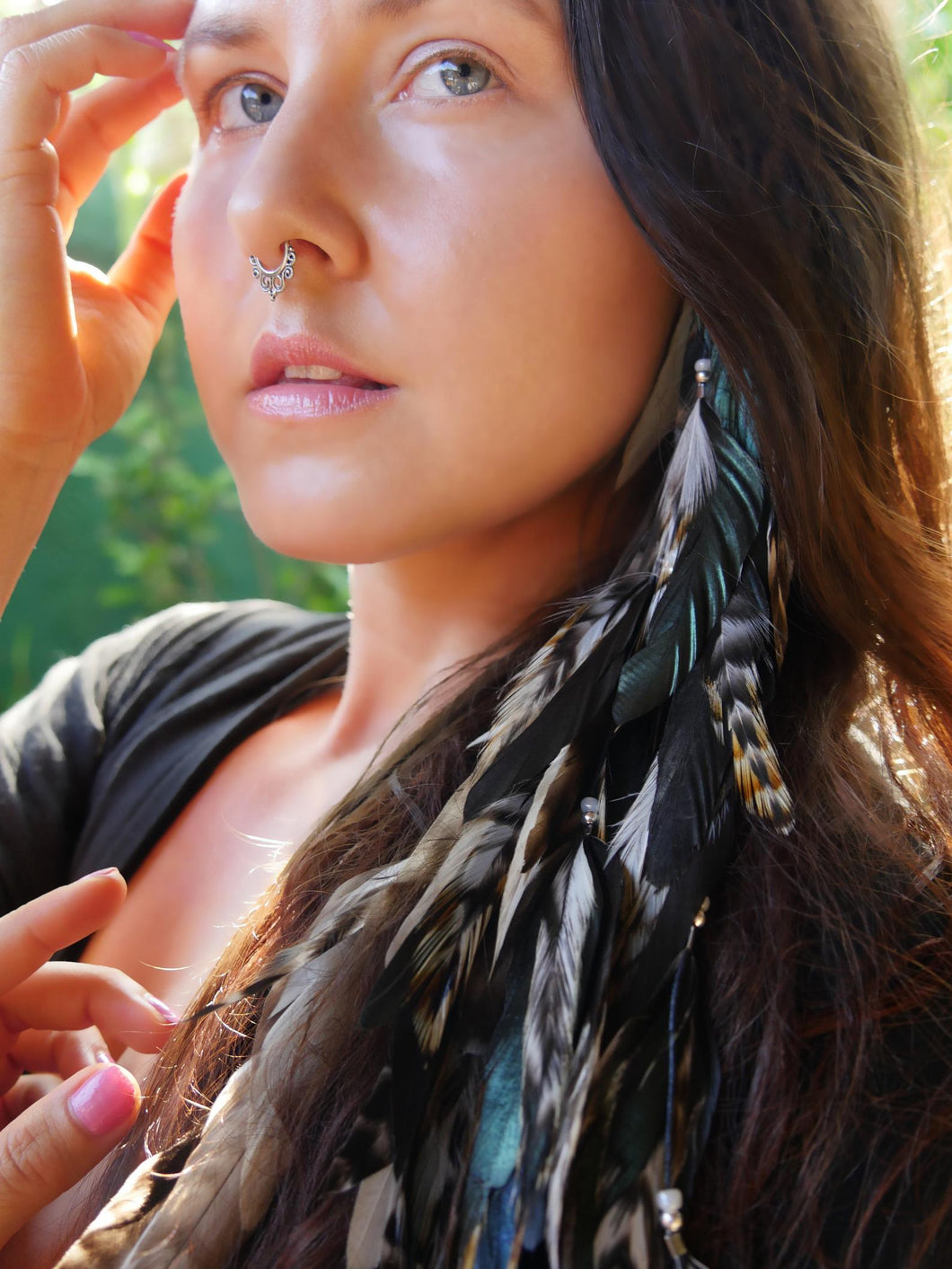 Bohemian Goddess Inner Wild Hair Jewelry