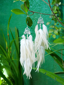 Bohemian Goddess My Feminine Essence - Moon Stone Ear Pieces