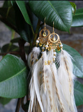 Lataa kuva Galleria-katseluun, Bohemian Goddess - My Inner Burning Fire - Citrine Ear Pieces
