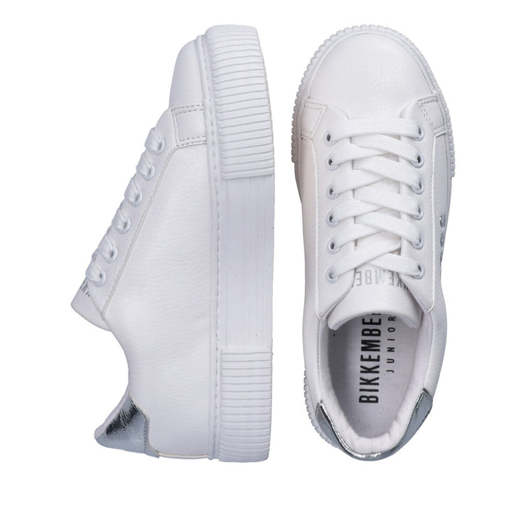 Sneakers con logo laterale